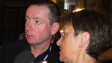 Mark Dowd and Maria Pia Mauro