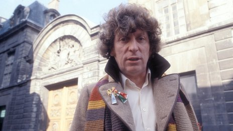 Tom Baker in the City of Death, 1979