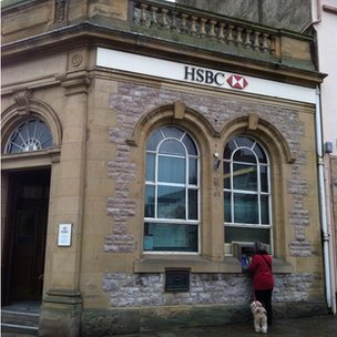 HSBC branch in Conwy
