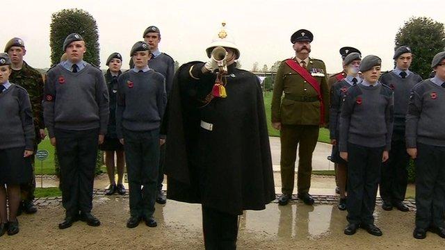 Armistice commemoration
