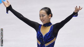 Japan's Mao Asada wins in Paris