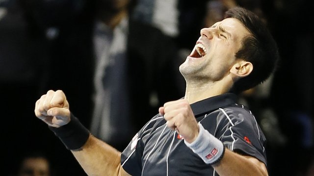 71053882 71053881 Novak Djokovic Retains World Tour Finals At Londons O2 Arena