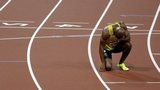 Jamaican athlete Asafa Powell