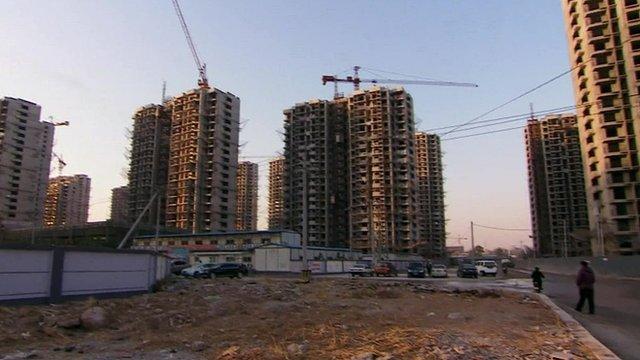 Building site in Beijing