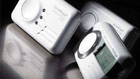 A current carbon monoxide alarm