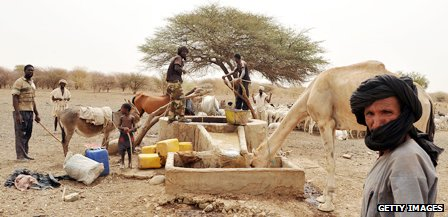 Well in southern Mauritania