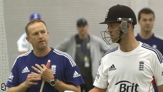 Andy Flower and Graeme Swann
