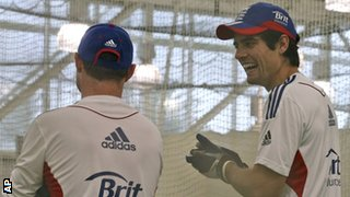 Ian Bell and  Alastair Cook