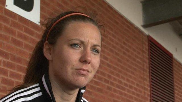 Glasgow City captain Rachel Corsie