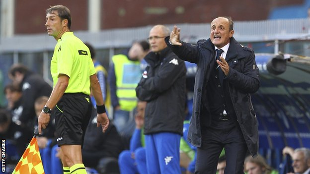 Former Sampdoria head coach Delio Rossi