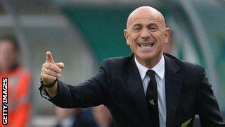 Former Chievo head coach Giuseppe Sannino
