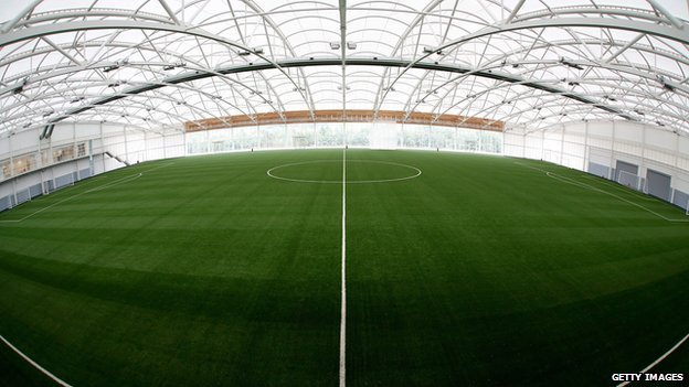 A training pitch at the National Football Centre