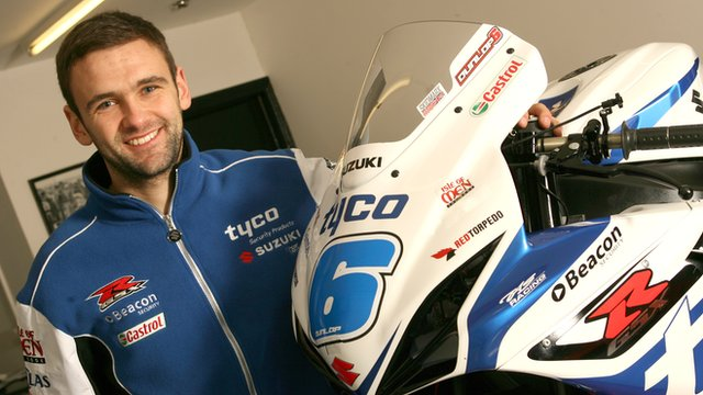 William Dunlop will ride for Tyco Suzuki in 2014