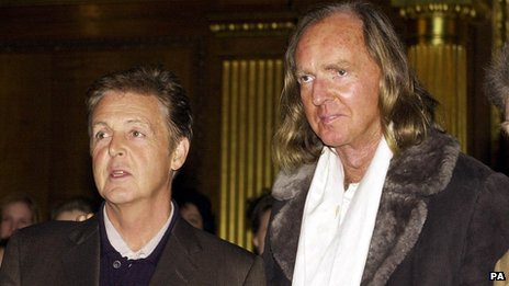 Sir John Tavener & Sir Paul McCartney
