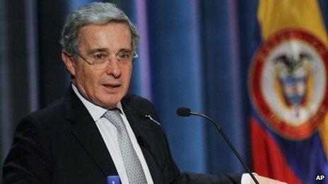 Alvaro Uribe, August 2011