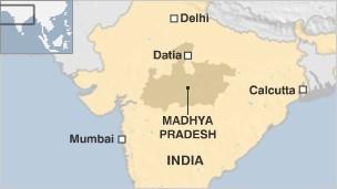 Datia map