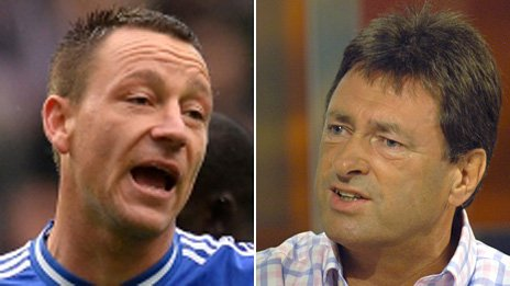 Composite image of John Terry and Alan Titchmarsh