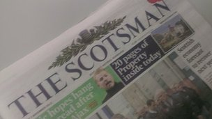 scotsman newspaper