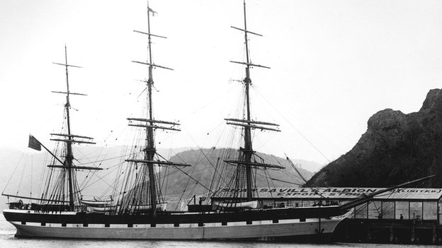 The Euterpe in New Zealand 1883