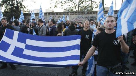 Golden Dawn rally, 26 Oct 13