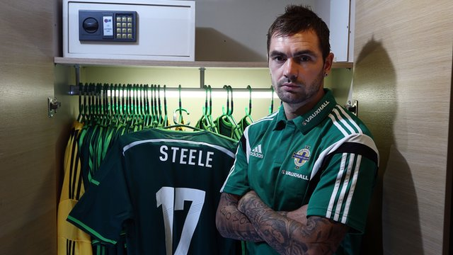Jonny Steele is in the Northern Ireland squad to face Turkey