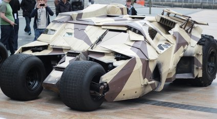 The Tumbler BatMobile at MediaCityUK