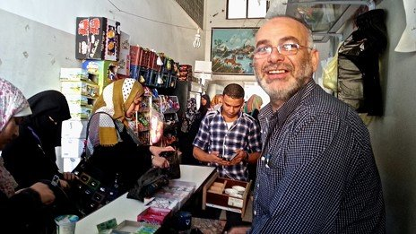 Abu Youssef, shopkeeper, central Gaza