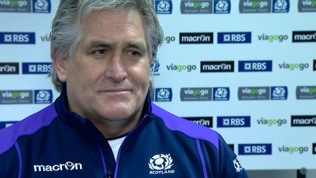 Interview - Scotland head coach Scott Johnson