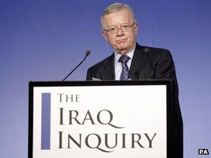 'No US veto' over Iraq war documents...