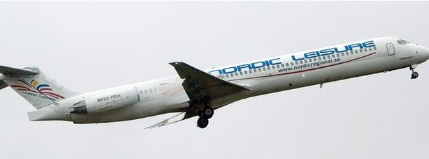 Nordic Airways plane