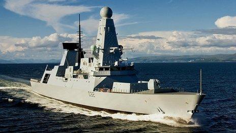 HMS Daring