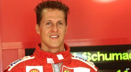 Michael Schumacher los 2000