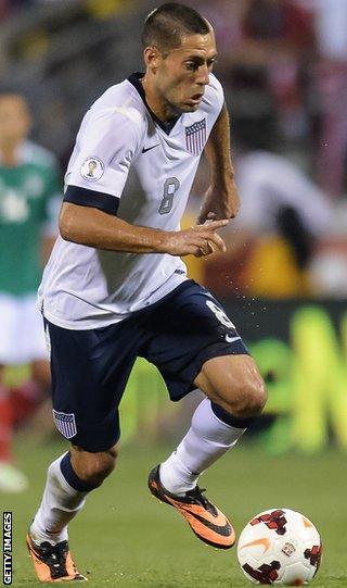 USA midfielder Clint Dempsey