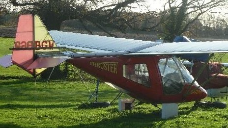 Microlight in NCA case