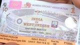 Ticket for Sachin Tendulkar's last match