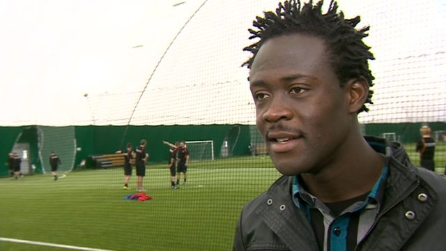 Middlesbrough forward Kei Kamara