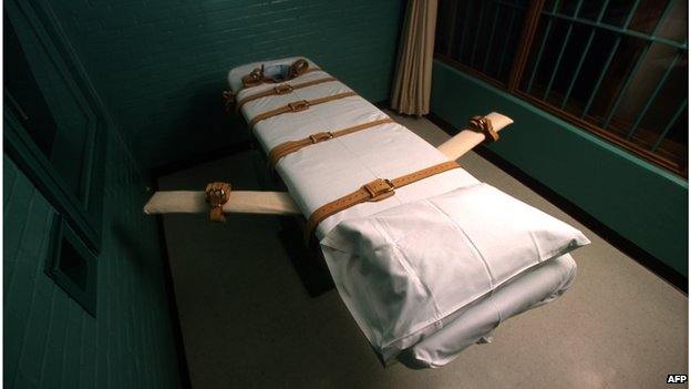 Archive photo of death chamber in Texas