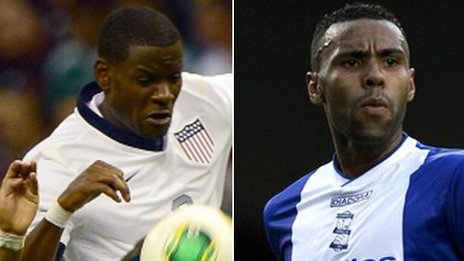 Maurice Edu and Kyle Bartley