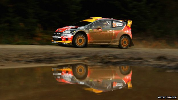 Martin Prokop and Michal Ernst of Czech Republic drive the Jipocar Czech National team car
