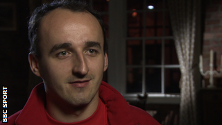 Former Renault driver Robert Kubica