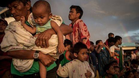 Typhoon survivors' outlook 'bleak'