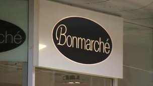Bonmarche sign