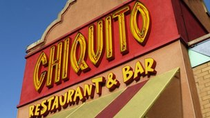 Chiquito restaurant in Enfield