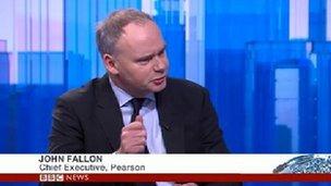 John Fallon, CEO, Pearson