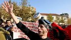 Anger in Albania over chemical arms