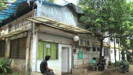 Mukesh Chhabra's casting studio