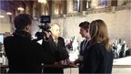 School reporters interview John Bercow.
