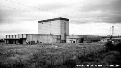 Asbestos factory in Bowburn c.1989