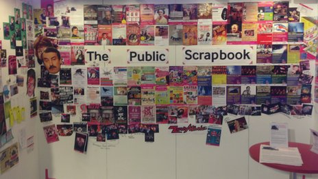 Public Scrapbook at Public Gallery