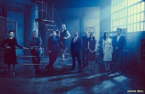 The cast of Man of Steel